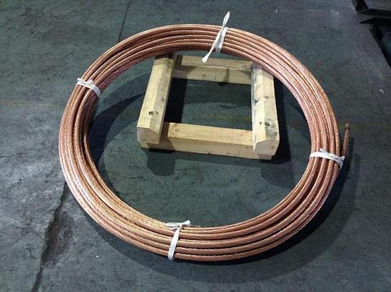 铜覆钢绞线