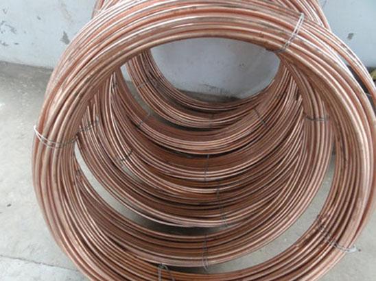 铜覆钢圆线